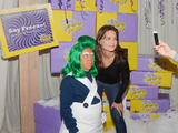Actress Katie Holmes spotted at the Winter WONKA™-land Pop-Up in downtown NYC. Photo credit: Joey Andrew/Startraks