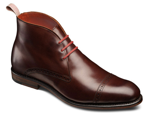 Hannah Smith's winning design, Bleecker Street, will be featured in the upcoming Allen Edmonds collection.