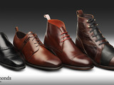 Allen Edmonds & Parsons 2014 Student Design Competition finalist designs:  Sprata, Wright, Bleecker Street and Frontier