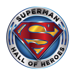 Superman Hall of Heroes logo