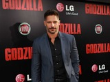 TV and film heart-throb, Joe Manganiello, turns up the heat on the red carpet at the Los Angeles premiere of Godzilla, sponsored by LG Electronics and the new LG G Flex