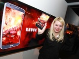 At the official Godzilla premiere after party, a large, interactive LG Knock Code experience was front and center for VIP guests and media to win cool, digital prizes by decoding a knock pattern on a touchscreen display using symbols from the movie.