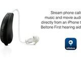 Beltone, one of the world's largest manufacturers of hearing devices, recently announced the first-ever 'Made for iPhone' hearing aid – Beltone First.