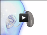 Beltone First's lightweight, ergonomic design sits securely behind your ear, hidden from view.