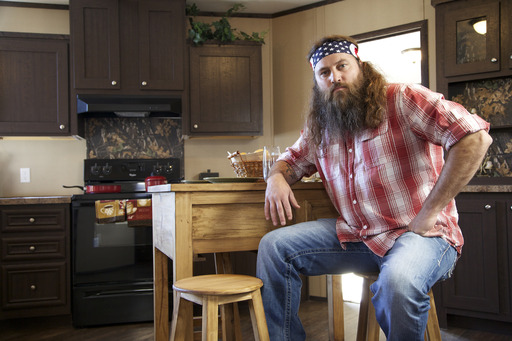Willie Robertson at Home in Clayton Kitchen