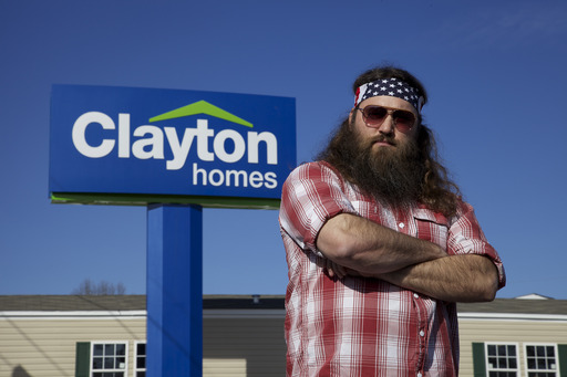 Willie Robertson is the New Voice of Clayton Homes