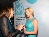 Valerie Harper, Helena Foulkes, President CVS/pharmacy and Kellie Pickler at the American Lung Association's LUNG FORCE national kickoff reception in New York City. CVS Caremark is the national presenting sponsor of LUNG FORCE.