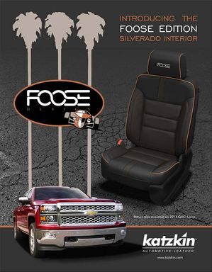 Introducing the Foose Edition Silverado Interior transformed by Katzkin.