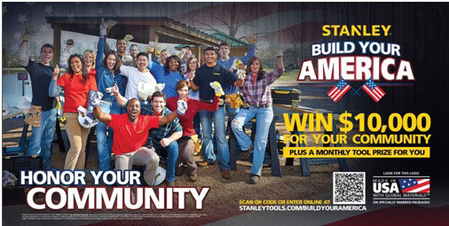 STANLEY® Tools Announces its 2014 Build Your America Contest