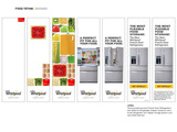 Whirlpool's new 4-Door French Door Refrigerator is flexible enough for any family.