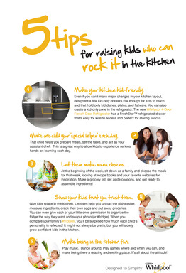 Whirlpool blog ambassador Amy Mascott from TeachMama.com shares kitchen tips for kids.
