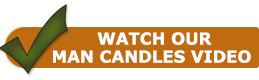 Yankee Candle Man Candle Video