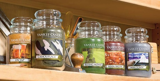 Yankee Candle announces two new additions to the third iteration of its popular Man Candles collection, On Tap and Camouflage - just in time for Father's Day!
