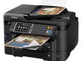 The Epson Workforce WF-3640 powered by PrecisionCore offers enhanced productivity and flexible paper handling for small offices.