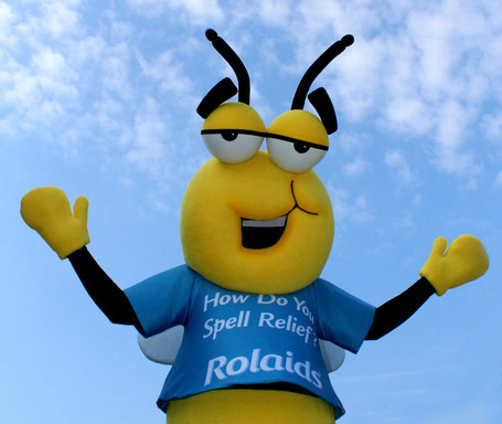 "Rolaids ""Eat Your Words"" Spelling Bee Mascot"