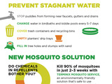 Simple tips to protect against mosquitoes at home