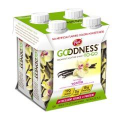 Post Goodness-To-Go Tahitian Vanilla Four-Pack