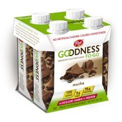 Post Goodness-To-Go Mocha Four-Pack