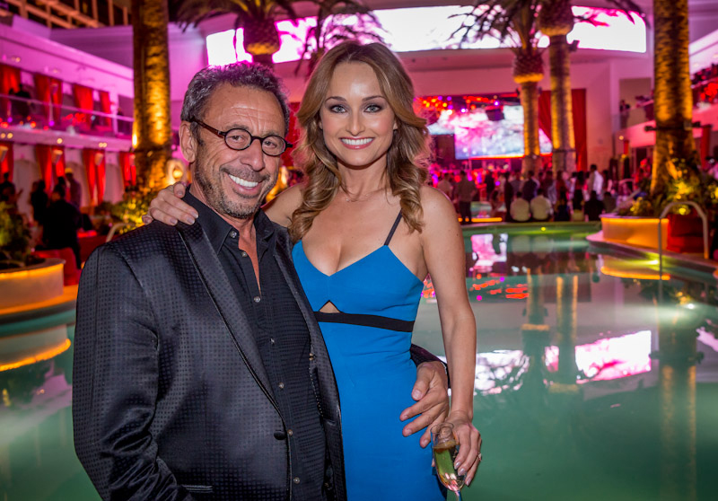Nightlife impresario Victor Drai and celebrity chef Giada De Laurentiis mark the opening of Drai's Beach Club - Nightclub. De Laurentiis opens her first-ever restaurant GIADA at The Cromwell June 3