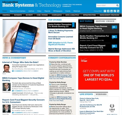 The New Bank Systems & Technology