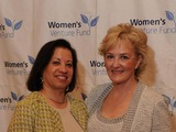Women's Venture Fund Founder, Maria Otero and Sharon Callahan, CEO, LLNS