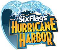Six Flags Hurricane Harbor logo