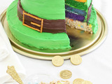 Lucky Charms Rainbow Cake is the perfect treat for a parade pre-party or late-night bash.