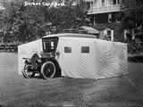 Sleeper/Camper car. Courtesy Library of Congress