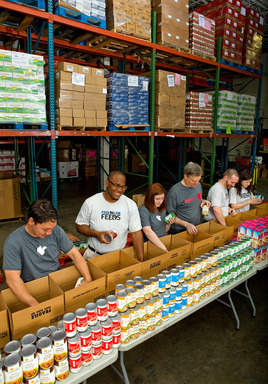 On June 9, Food Lion launched a new hunger relief commitment, Food Lion Feeds, which kicked off with a donation event at its headquarters in Salisbury, N.C.