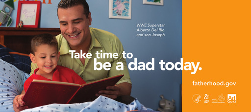 WWE Superstars Take Time to Be Dads in New PSAs