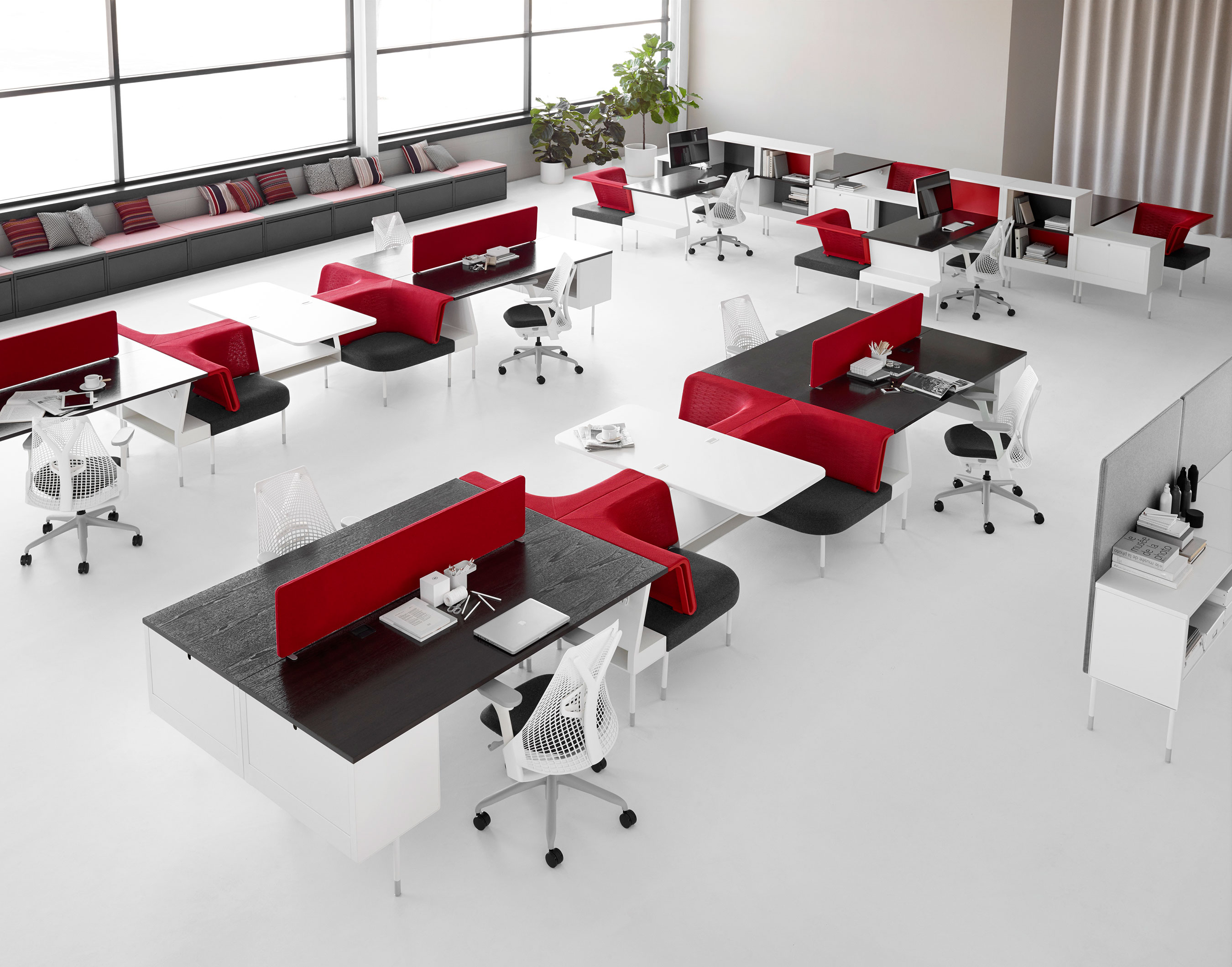 Bürogestaltung beispiele  Herman Miller Brings Living Office℠ to Life