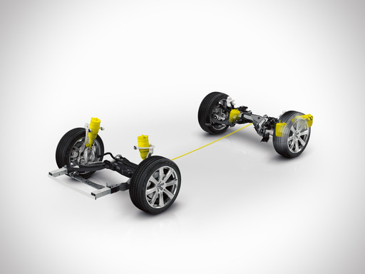Volvo XC90 Air suspension
