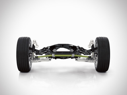 Volvo XC90 Rear suspension