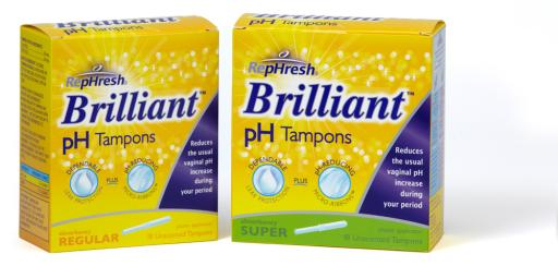 RepHresh Brilliant pH Tampons