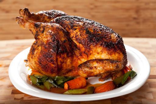 Roast Chicken Provencale