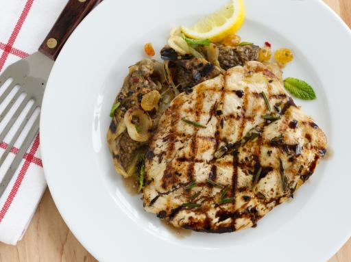 Grilled Rosemary Chicken Breast with Garlic Marinade