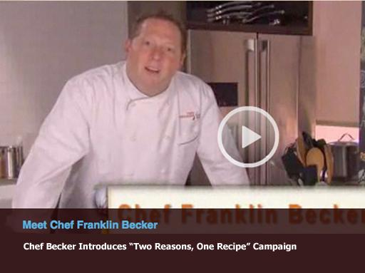 Chef Becker Introduces Campaign