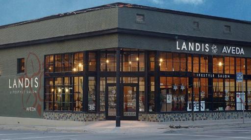 Landis AVEDA Lifestyle Salon Exterior
