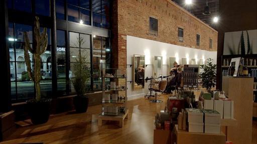Landis AVEDA Lifestyle Salon Interior