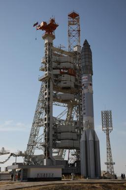 ViaSat-1 prepared for launch