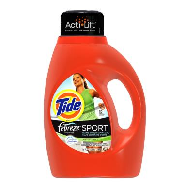 Tide(R) Plus Febreze Freshness Sport(TM)