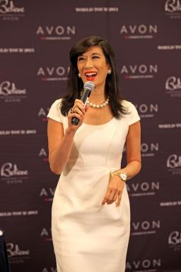 Andrea Jung at Meet and Greet