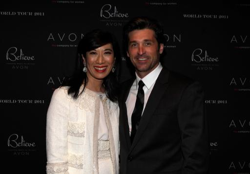 Patrick Dempsey and Andrea Jung