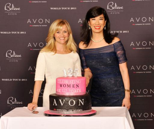 Reese Witherspoon & Andrea Jung