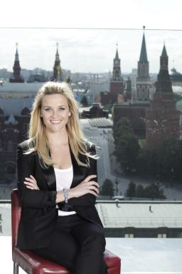 Reese in Red Square, Moscow