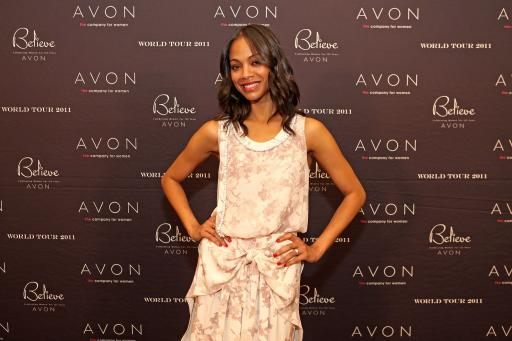 Zoe Saldana at Meet and Greet