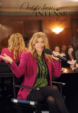 Fergie speaks at Avon World Tour in NYC