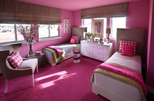 HGTV Green Home 2011 Girls' Bedroom