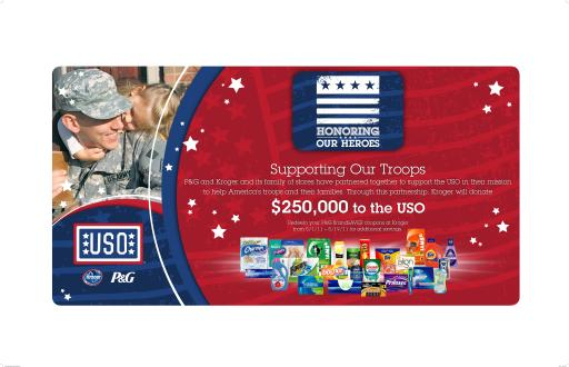 Kroger Honors our Heroes with a $250,000 donation to the USO