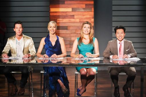HGTV Design Star mentor David Bromstad and judges Candice Olson, Genevieve Gorder and Vern Yip